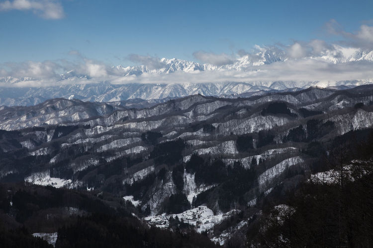戸隠大望峠からの北アルプスと荒倉山、一夜山 No People Cloud - Sky Mountain Scenics - Nature Tranquility Beauty In Nature Outdoors Mountain Range Nature Mountains Mountain Photography Nagano Nagano, Japan Nagano Prefecture,Japan 戸隠 北アルプス Japan Photography Japan