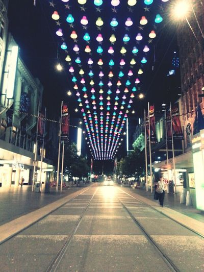 Christmas Bells On Bourke Street