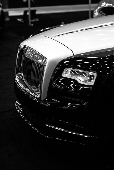 Never compromise, half a million invested into the coupe Wraith
