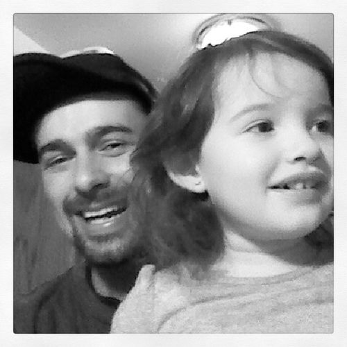 Gia wanted to be in selfie with dadda. She liked I shaved my beard. BestDaughter Makesdaddy Smile Xoxo