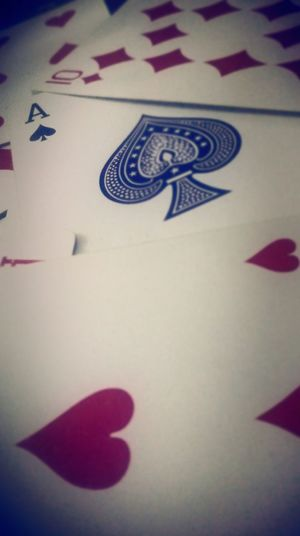 Ace Of Spades Cards Viggnetting Red And Black Spade Heart ❤ Hearts