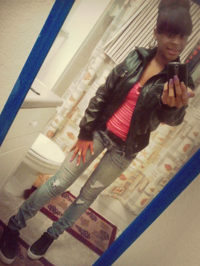 the otheer day . im cutee thoough <3