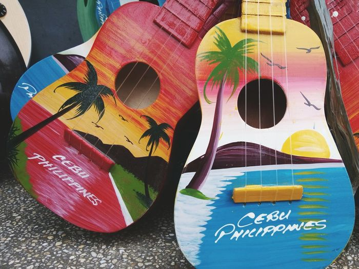 The OO Mission CebuColors Cebuguitars First Eyeem Photo Phoneography Colors ASIA Creativity Music Eyeem Philippines Guitar