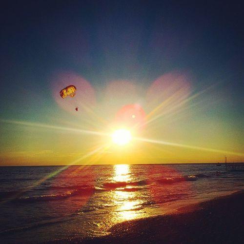 Summer Holiday Turkey Konakli Sea Wave Sun Sunset Sky Fun Memories Beach Nocloud Lightreflex