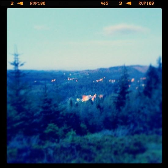 View from a hill!! Dunno what hill? Haha Climbing Dunkeld