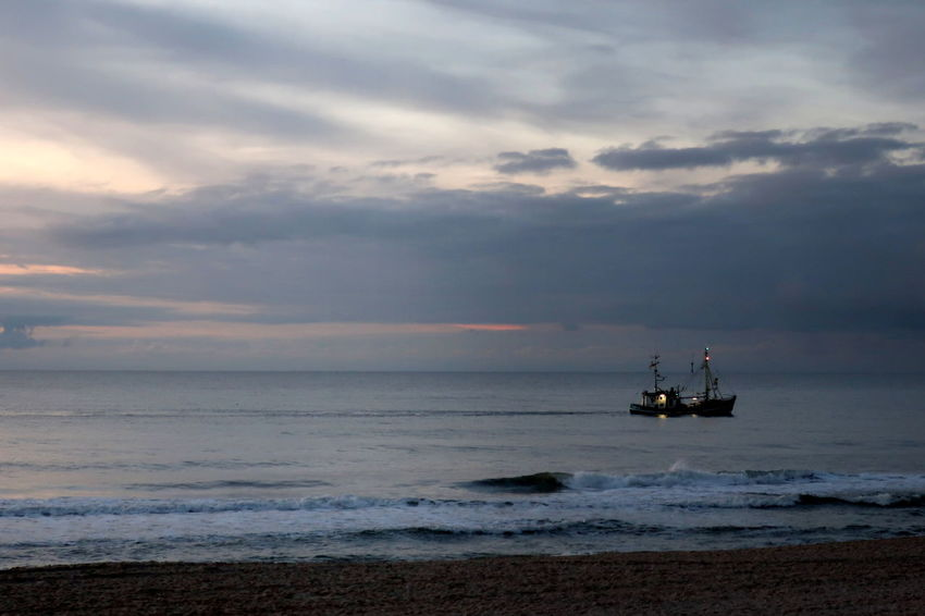 Beach Beauty In Nature Cloud - Sky Day Horizon Over Water Lighthouse Nature Nautical Vessel No People Nordsee Sylt Strand Sylt Germany Outdoors Scenics Sea Ship Sky Sunset Sylt Tranquility Transportation Water Wave Nordsee Feeling🐚🌾