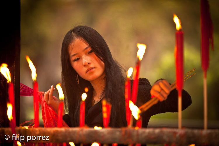 Budism Candle