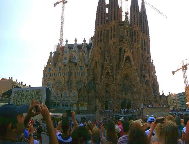 Gaudi Barcelona Gaudi саградафамилия Sagradafamilia Sagrada Familia Барселона Barcelona Summer 2016