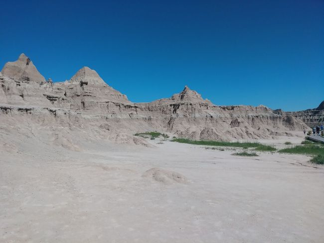 Badlands Nature Environment Black Hills Scenic Beauty Of Nature Beautiful Amazing Phenomenal Gorgeous Breathtaking Delightful Outdoors Natural Beauty Piece Of Mind VICTORIOUS Abundance Badlands EyeEm Selects Sand Dune Clear Sky Desert Mountain Arid Climate Sand Blue Sunny Sky Landscape