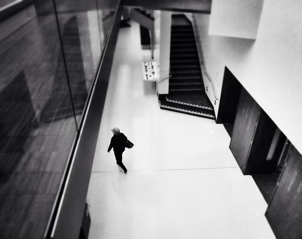 Really like how Wolverhampton Art Gallery has been revamped. People Watching Streetphotography People Blackandwhite Vanishing Point Black And White Lines Art Gallery Streetphoto_bw Perspective Abstractions In BlackandWhite Wolverhampton Abstract