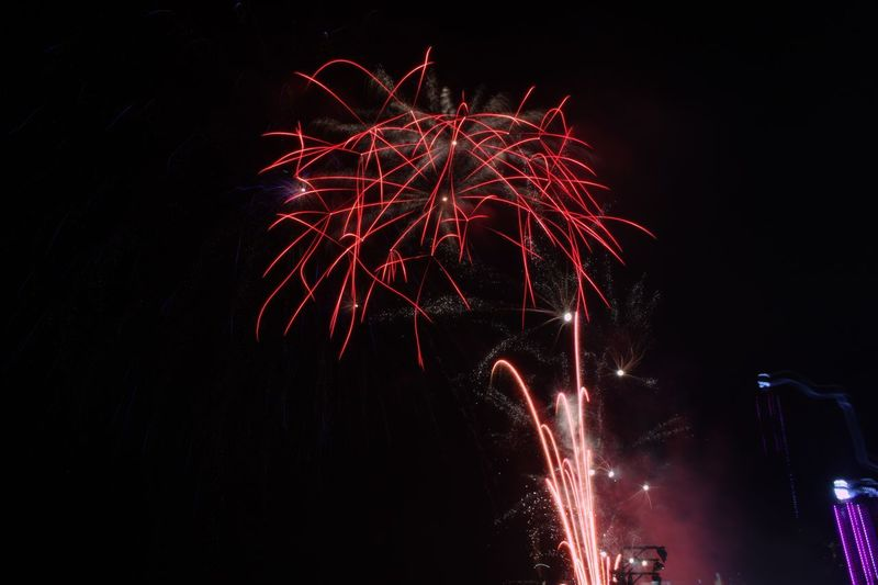 Fireworks 🎆 Illuminated Multi Colored Arts Culture And Entertainment Motion Firework Display Celebration Firework - Man Made Object Long Exposure Awe Event Bomb Explosive Fireball Inferno Entertainment Midnight Hell Firework Light Painting Entertainment Event Sparks Sparkler Exploding HUAWEI Photo Award: After Dark EyeEmNewHere