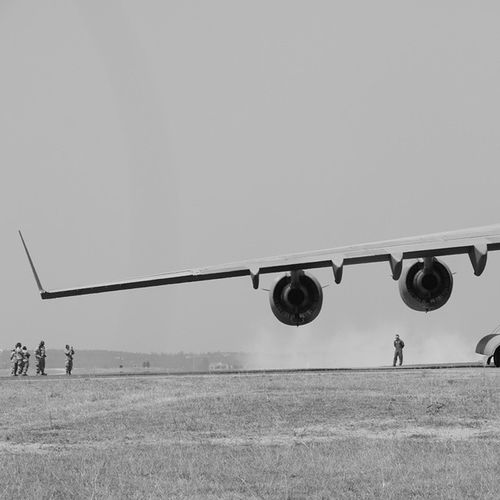 Saviors of a world Canon Canon70d Canon_photos Canon_official Airplane Wing Turbine Blackandwhite Bnw Smoke Aeroshow Globemaster Globemasteriii American Airforce Usairforce Aeroshow2015 Bengaluru Bangalore India Explore Exploreindia ExploreEverything Ig Igers igersoftheday