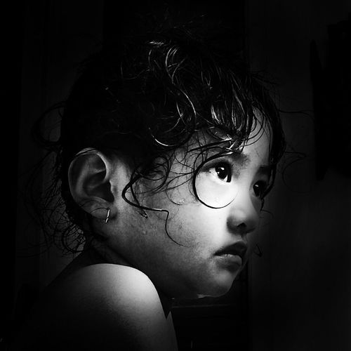 Through your eyes I see the innocent world Black And White Blacckandwhite Eyes Potrait