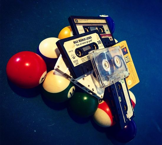 Pool Cassette Retro Life Time To Reflect Time IPhoneography
