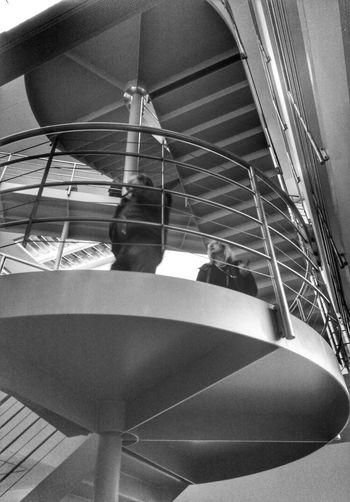 Art Exhibition City Life Museum Stairs Architecture Blackandwhite