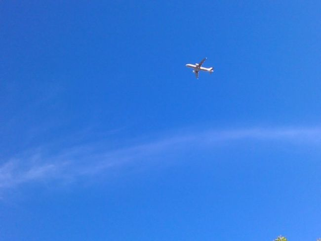 Freedom... Looking Up Airplane Eyeem Philippines Get Moving Negative Space Cobalt Blue By Motorola