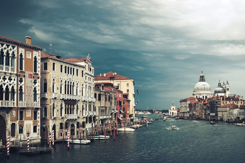 Moody Venice EyeEmNewHere Storm Lightning Thunderstorm Thunder Moody Moody Sky Mood Peace Boats Venice Italy Sea And Sky Sea Ocean Cloud Architecture Building Exterior Sky Dome Water Cloud - Sky Built Structure Outdoors City Place Of Worship Day No People Religion EyeEmNewHere
