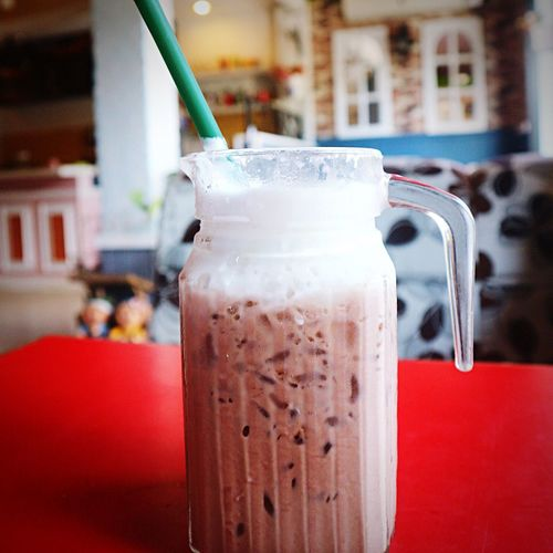 Drink Drinking Straw Food And Drink Milkshake Drinking Glass Refreshment Close-up Milk No People Focus On Foreground Iced Coffee Table Indoors  Freshness Smoothie Healthy Eating Cold Temperature Frothy Drink Day