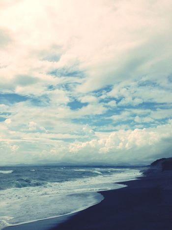 Japan Sea Sea And Sky