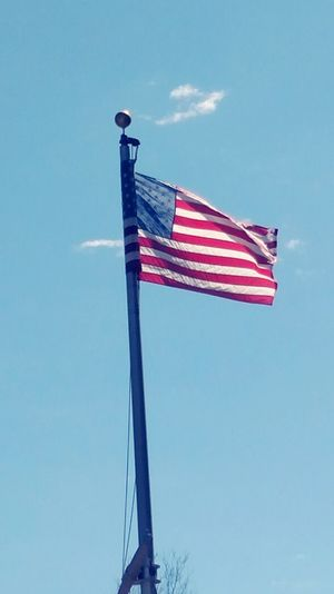 Flag Flags In The Wind  Taking Photos Merica American Flag Just Because Proud American  Enjoying Life