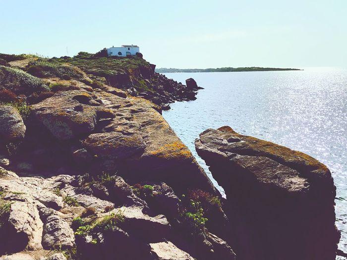 Landscape Environment Environmentalist Coastline Landscape Coast Cliffs Rock Solid Clear Sky No People Outdoors Sunny Tranquility