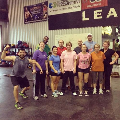Last Learn To CrossFit class. We did the Dirty 30. Crossfit Dirty30 LTC GetAfterIt