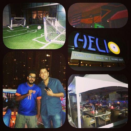 Helio Lounge Dubai URUvENG WorldCup2014 ✌⚽?