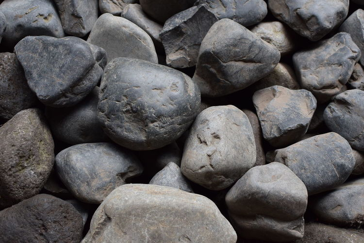 Stones Backgrounds Geology Large Group Of Objects Nature No People Pebble Stone - Object Textured