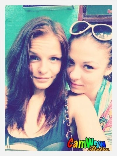 with his beloved sister))