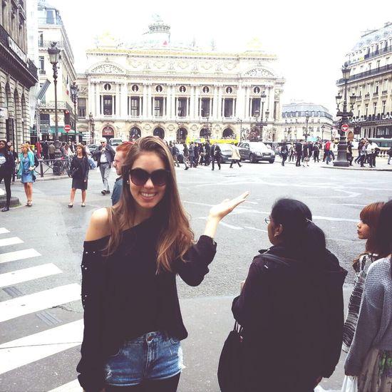 Paris Opéra Being Cultured Enjoying Life