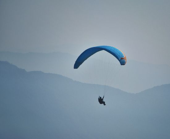 Paragliding Sport Mountains Alpine Extreme Sports