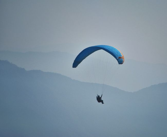 Paragliding Sport Mountains Alpine Extreme Sports