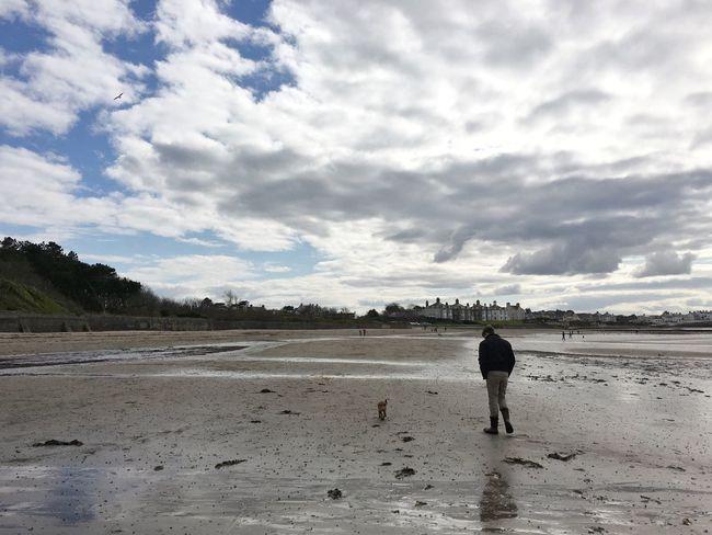 Beach Here Belongs To Me Wasting Time Walking Bangor