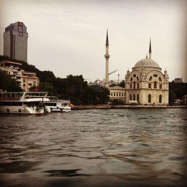 Ortaköy Mosque Like Sea Ortaköy