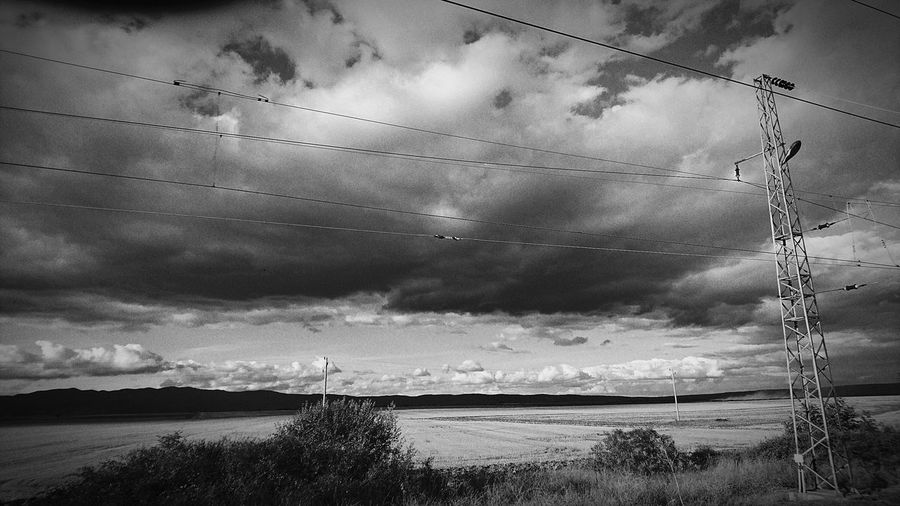 EyeEm Selects Cloud - Sky Nature Outdoors Storm Cloud Electricity Pylon No People Beauty In Nature Flying Black And White Blask Black And White Photography Blackandwhite Blackandwhitephotography Blac&white