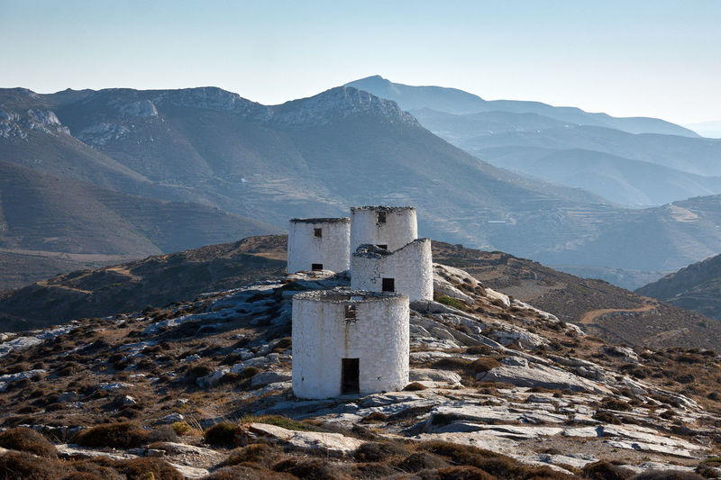 Amorgos Chora Amorgos Amorgos Chora Architecture Beauty In Nature Belief Building Built Structure Day Environment Greece History Idyllic Land Landscape Mountain Mountain Peak Mountain Range Nature No People Outdoors Religion Scenics - Nature Sky Tranquil Scene Tranquility