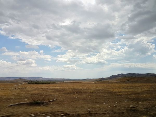 Sicily Landscape Nature Photography Landscape Clouds And Sky Clouds Desert Landscape Mobile Photography In Motion By Car