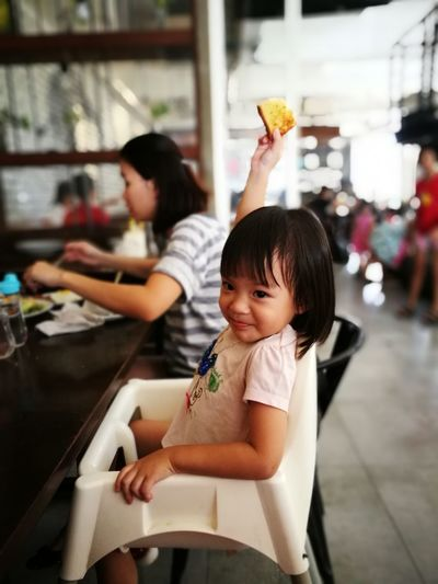 Child Eating People Food Real People One Person Indoors  Human Body Part Adult Chinese Takeout Day