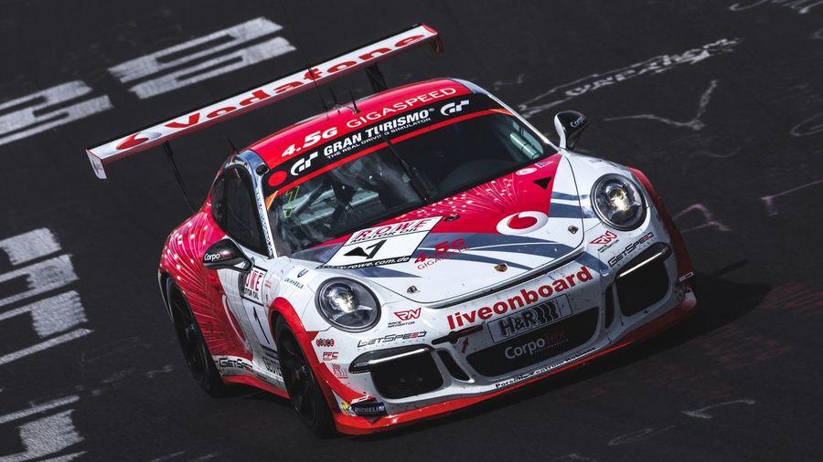 Porsche on