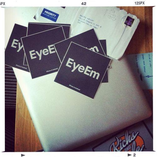 Eyeem stickers...