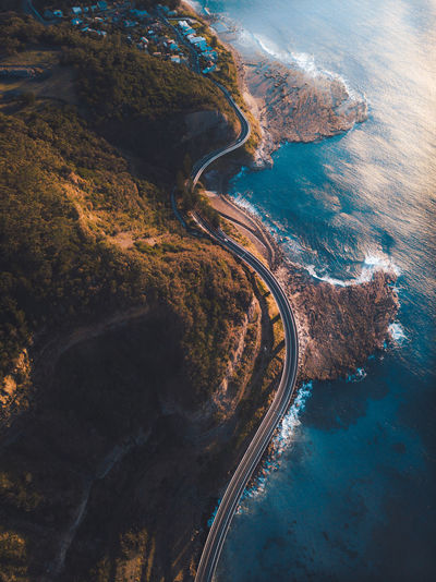 Bridges Drone  Beauty In Nature Bridge View Coastal Day Drone Photography Dronephotography High Angle View Land Nature No People Outdoors Roadtrip Scenics - Nature Sea Sunrise Tranquil Scene Transportation Water
