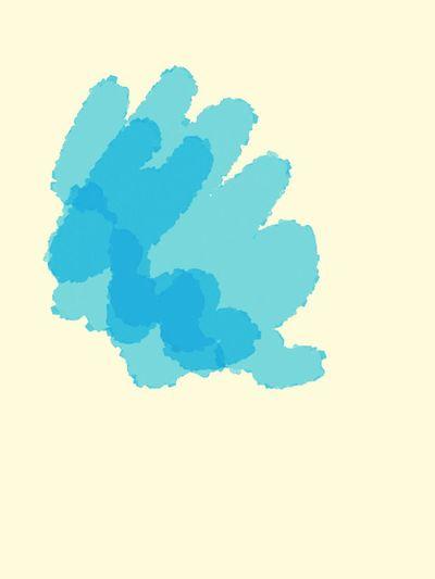 blue color Ink