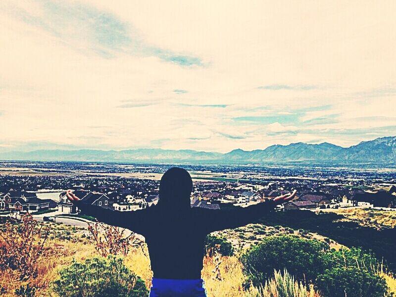 What Does Peace Look Like To You? Rocky Mountains Utah Sky Salt Lake City, Utah