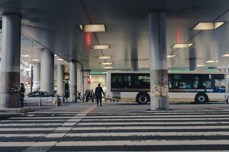 Transportation Architecture City Built Structure Group Of People Road Crosswalk Mode Of Transportation Street Sign City Life Car Crossing Zebra Crossing