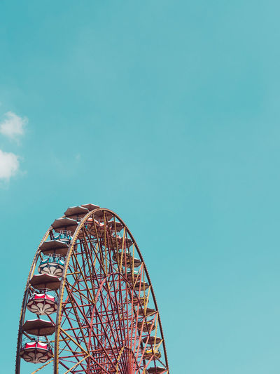 half• Amusement Park Arts Culture And Entertainment Amusement Park Ride Ferris Wheel Traveling Carnival Rollercoaster Leisure Activity Low Angle View No People Fun Clear Sky Day Outdoors Sky Carousel Your Ticket To Europe The Week On EyeEm EyeEmNewHere Mix Yourself A Good Time Berlin Love Done That. Adventures In The City The Creative - 2018 EyeEm Awards