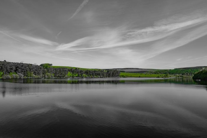 A hint of green Sky Collection Landscape_Collection Colour Splash Reflection Skyporn Cloudscape EyeEmBestPics Fujifilm_xseries Fuji Xt20 Eye4photography  EyeEm Gallery Water_collection Water Reflections Green Clouds And Sky Sky And Clouds Sky Scenics - Nature Beauty In Nature Water Tree Tranquility Nature Tranquil Scene Cloud - Sky Landscape Waterfront Non-urban Scene
