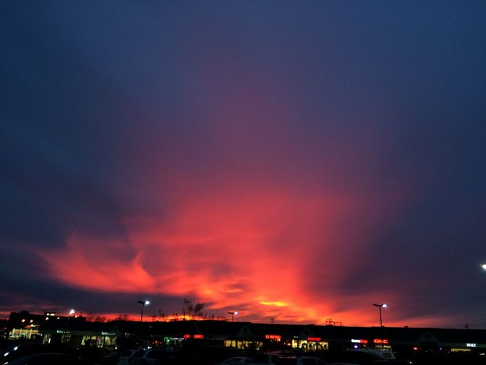 Tonight. No edits. Just a beautiful sunset. Sunset The Purist (no Edit, No Filter) clouds and sky