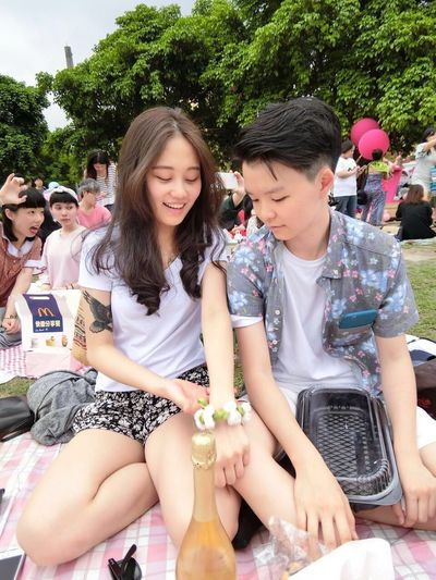 她才是主角 Vouge 風格 野餐 日 Taipei,Taiwan