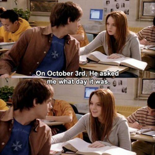 Meangirls October3rd
