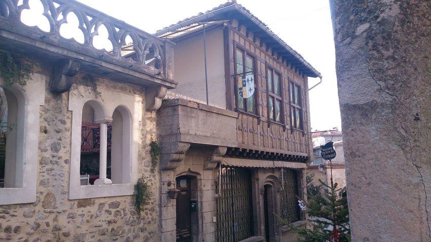 Una Casa de la Ciudad Medieval de Carcassone